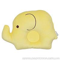 Подушка для новорожденных «Слонёнок» (жёлтая)