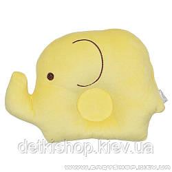 Подушка для новонароджених «Слоненя» (жовта)