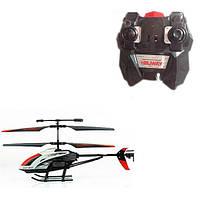 Вертолет 305  р/у,аккум,27см,свет,гироскоп,запасн.лопасти,USBзарядн,в кор-ке,51,5-20-8см
