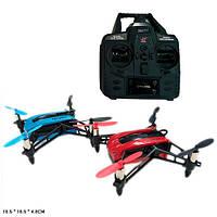 Квадрокоптер 903  р/у2,4G,аккум,14см,свет,USBзарядн,зап.лопасти,2цвета,в кор-ке,19-22-12см
