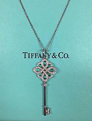 Серебряный ключик в стиле Tiffany