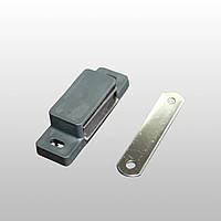 Магнітна засувка для москітної двері, антрацит RAL 7016