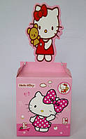 "Коробка подарочная сборная 9*10*9 см.""Hello Kitty""."