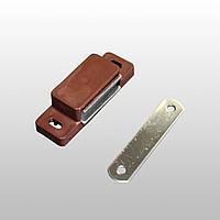 Магнітна засувка для москітної двері, коричневий RAL 8017