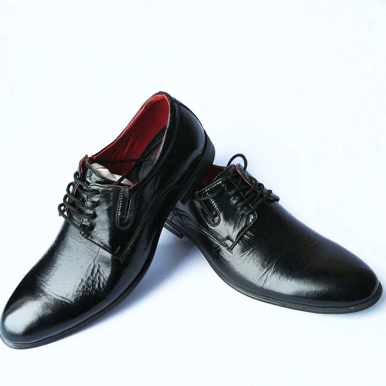 8f525b958 Мужская обувь Бровары : стильные, лаковые, черные туфли фабрики Prime shoes  - Интернет-