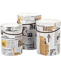 Комплект коробок для упаковки Крафт 3 шт 0071J/white