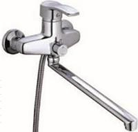 Смеситель для ванны длинный гусак ZEGOR (TROYA) BBS7-А279 (NVL)