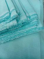"""Льняная ткань для постельного белья """"Лазурный берег"""" (шир. 220 см)"""