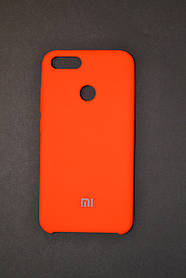 TPU + PC + MicroFiber Silicone Case for Xiaomi Mi 5X / Mi A1 Acid Orange (кислотно-оранжевый)