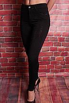 Молодежные женские джинсы со стразами американка Hepyek 26-31разм, фото 3