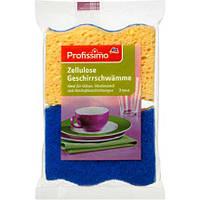 Губка для мытья посуды Profissimo Zellulose Geschirrschwamme 2 шт