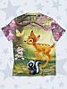 Детская футболка Бэмби герои, фото 2