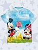 Детская футболка Микки и Минни любовь, фото 2