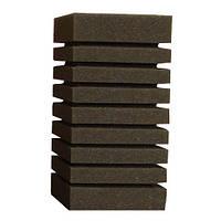 Resun губка прямоугольная среднепористая 10х10х20 см