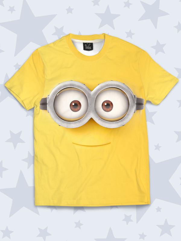 Детская футболка Глазастый миньон