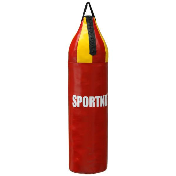 Боксерский мешок Sportko Шлемовидный (высота-80см, диаметр-24см, вес-10кг).