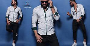 Стильная мужская рубашка производство Турция,С,М,Л,ХЛ