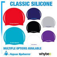 Шапочка для плавания силиконовая Aqua Sphere NEW CLASSIC CAP