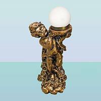 Декоративный напольный светильник торшер для дома Богдан