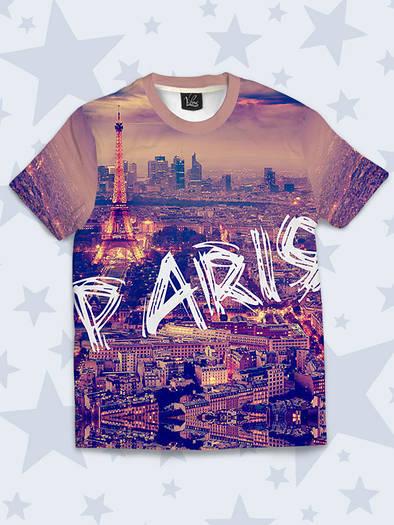 Детская футболка Шикарный Париж