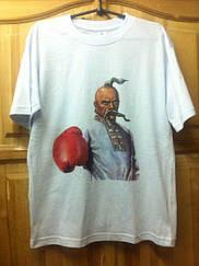 Футболка Козак боксер біла