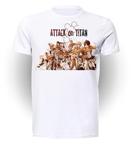 Футболка GeekLand Атака титанов Attack on Titan Let's go! AT.01.010