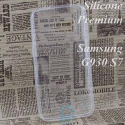 Чехол силиконовый Premium Samsung S7 G930 прозрачный