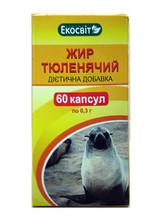 «Тюленячий Жир»кап. 60-уповільнює старіння організму