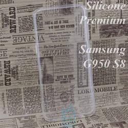 Чехол силиконовый Premium Samsung S8 G950 прозрачный
