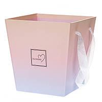 Коробка для цветов и фруктовых композицийFlowers 0065J/pinkpurple