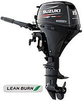 Чехол на крышку (капот) лодочного мотора SUZUKI 15\ 20 (4) инжекторный (серый), фото 1