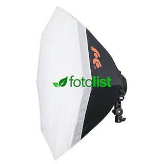 Постоянный свет Falcon LHD-B628FS-OB8 + софтбокс октагон Ø 80 см, 6х28w, 840 Вт, 5500К