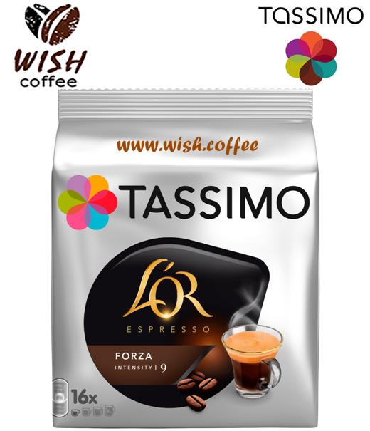 Кофе в капсулах Тассимо - Tassimo L'or Espresso Forza (16 порций)