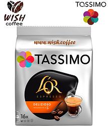 Кофе в капсулах Тассимо - Tassimo L'or Espresso Delizioso (16 порций)