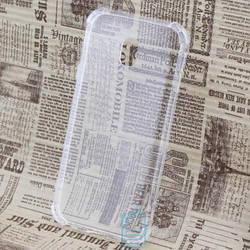 Чехол силиконовый Samsung J3 2017 J330 прозрачный