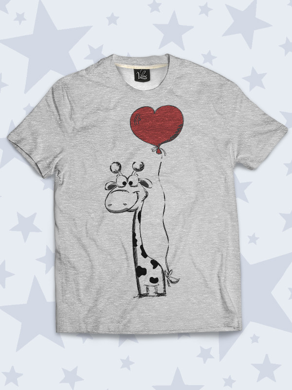 Детская футболка Жирафик