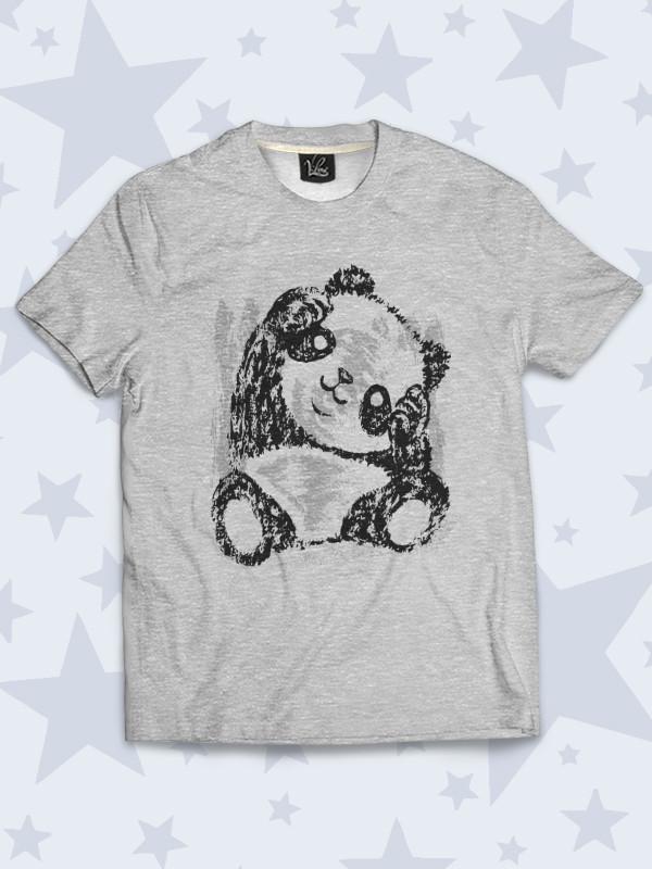 Детская футболка Милая панда