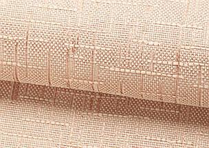 Римская штора Лен с отливом бежевый, фото 3