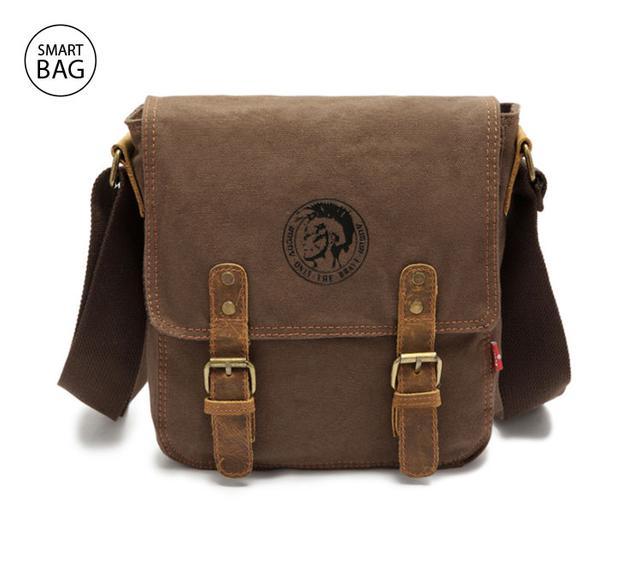 Мужская сумка через плечо Augur | коричневая