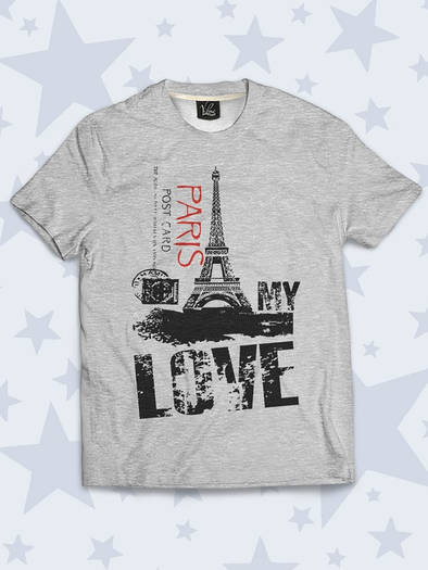 Детская футболка Paris is my love