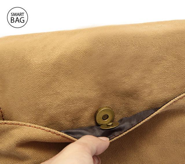 Мужская сумка через плечо Augur | бежевая