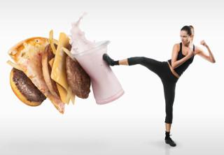 здоровое питание и зарядка