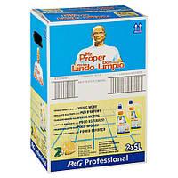 Mr. Proper Professional  Универсальное средство для очистки всех видов поверхности лимонный фреш 2 х 5 л