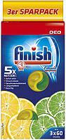 Освежитель посудомоечной машины Finish Лимон-лайм, 3 шт.