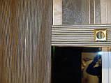 Панельные шторы Полоски шоколад, фото 2