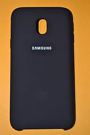 TPU + PC + MicroFiber Silicone Case for Samsung J330 / Galaxy J3 (2017) Black (черный)