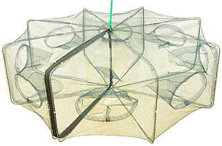 Раколовка-раскладная 6 входов 70 см (книжка)