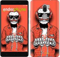 "Чехол на Xiaomi Mi 5s Plus Скелет в очках ""4192c-396-2448"""