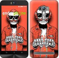 "Чехол на Asus ZenFone Selfie ZD551KL Скелет в очках ""4192c-116-2448"""