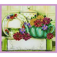 Набір для вишивання бісером Квітковий чай